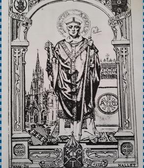 Représentation de Saint Epvre